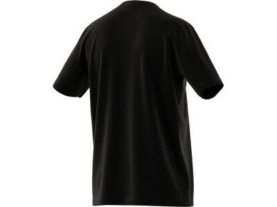 adidas Herren Essentials Embroidered Small Logo T-Shirt Schwarz