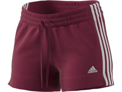 ADIDAS Damen Shorts 3S SJ Rot