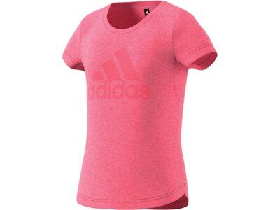 ADIDAS Kinder Shirt G A.R. Logo Pink