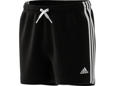 adidas Kinder Essentials 3-Streifen Shorts Schwarz