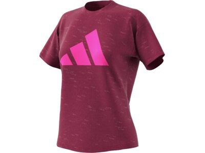 ADIDAS Damen Shirt WIN 2.0 Rot