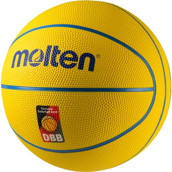 MOLTEN EUROPE Minibasketball SB4 Gelb
