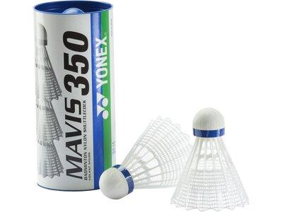 YONEX Badmintonball MAVIS350 Weiß