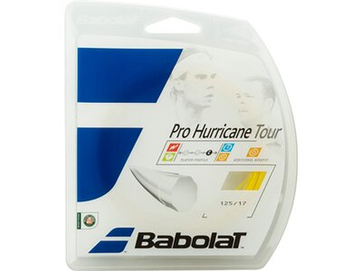 BABOLAT Tennis-Saite Pro Hurricane Tour 12 m Gelb