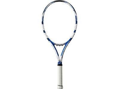 BABOLAT Herren Tennisschläger Tennisschläger Drive Lite bespannt Weiß