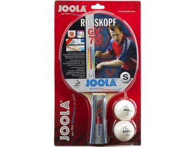 JOOLA Tischtennis-Schläger TT-BAT ROSSKOPF GX75 Rot