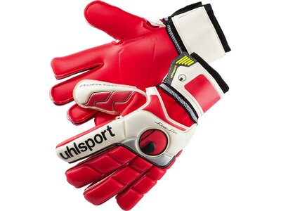 UHLSPORT Herren Handschuhe FANGMASCHINE SUPERSOFT Rot