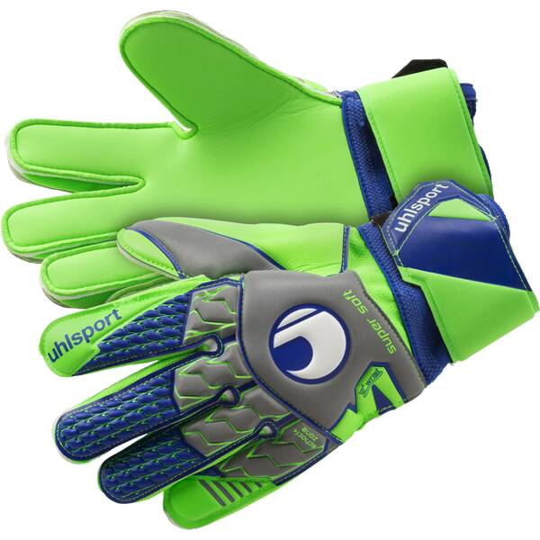 UHLSPORT Handschuhe SUPERSOFT Grau
