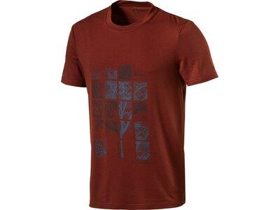 VAUDE Herren Shirt Herren T-Shirt Kulam Print Rot