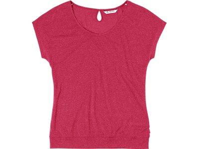 VAUDE Damen T-Shirt Skomer II Rot