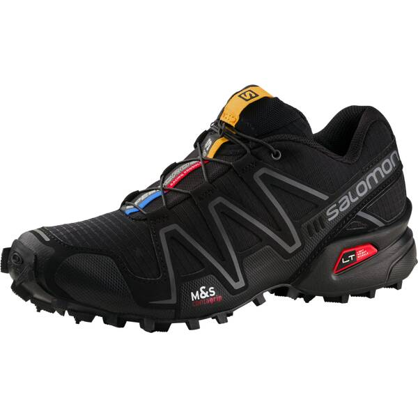 SALOMON Damen Trailrunningschuhe Speedcross 3 Schwarz