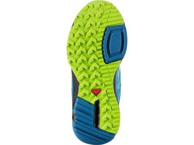 SALOMON Kinder Halbschuhe Schuhe STEPPY J GR/DARKNESS B/FIREFLY GR Grün