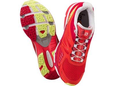 SALOMON Damen Laufschuhe X-SCREAM 3D W PAPAY/LOTUS PINK/FL Rot