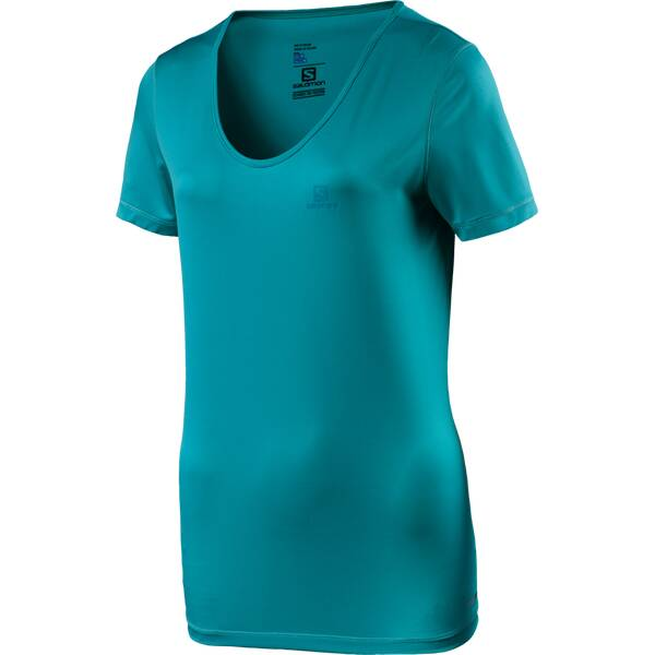 SALOMON Damen Shirt Mazy Blau