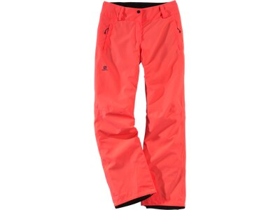 SALOMON Damen Hose Damen Skihose Strike Pant Orange