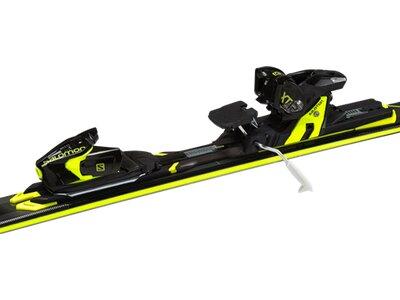 SALOMON Herren All-Mountain Skiset X-Max X9 Ti + M XT12 Weiß