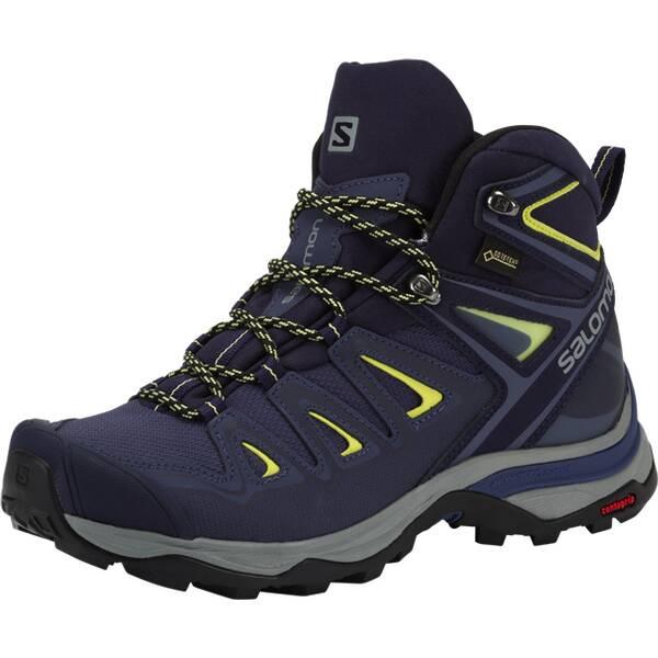 SALOMON Damen Multifunktionsstiefel X ULTRA 3 MID GTX W | Schuhe > Outdoorschuhe > Wanderstiefel | Dunkelblau - Blau | SALOMON