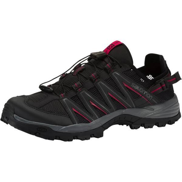 SALOMON Damen TrekkingschuheLakewood W | Schuhe > Outdoorschuhe > Trekkingschuhe | Schwarz - Rot | SALOMON