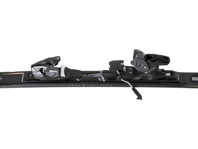 """SALOMON Skier """"E S/Force X10 Ti"""" inkl. Bindung """"Z12 GW 80"""" Schwarz"""