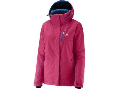 SALOMON Damen Funktionsjacke EXPRESS Pink