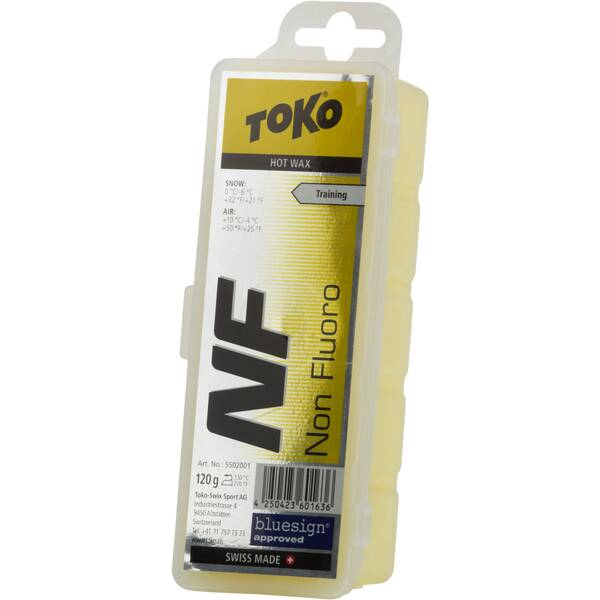 TOKO WACHS NF HOT WAX YELLOW 120 GR