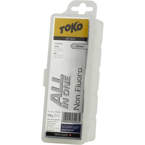 TOKO All in one Hot Wax 120 g Weiß