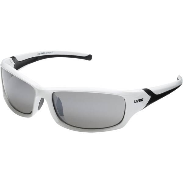Uvex Sportbrille Sportstyle 211   Uhren > Keramikuhren   Weiß - Schwarz   Uvex