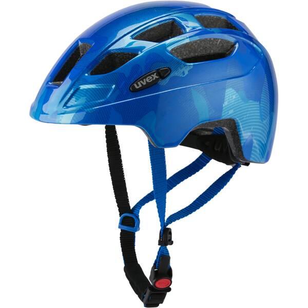 Uvex Finale jr. Fahrradhelm Blau