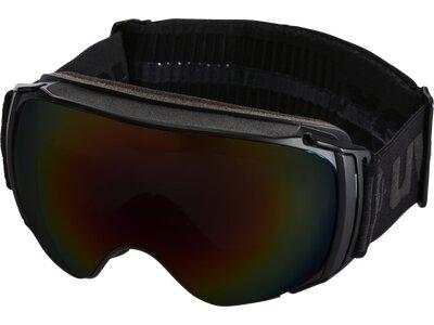 """UVEX Skibrille """"Sportiv Full Mirror"""" Schwarz"""