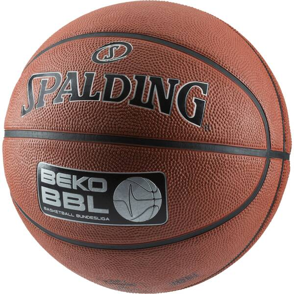 SPALDING Basketball BEKO BBL Street sz.7, (83-061Z) Orange
