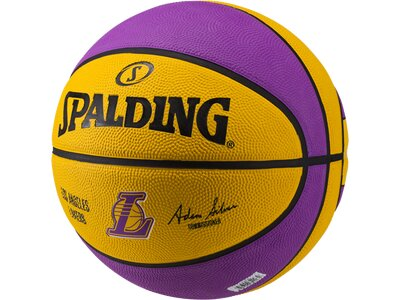SPALDING Basketball NBA TEAM L.A. LAKERS SZ.7 (83-510Z) Gelb