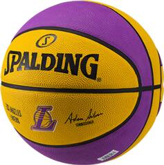 SPALDING Basketball NBA TEAM L.A. LAKERS SZ.7 (83-510Z)
