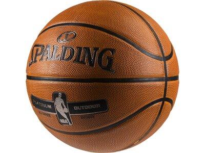 SPALDING Basketball NBA PLATINUM OUTDOOR SZ.7 (83-493Z) Orange