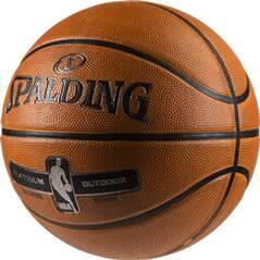 SPALDING Basketball NBA PLATINUM OUTDOOR SZ.7 (83-493Z)