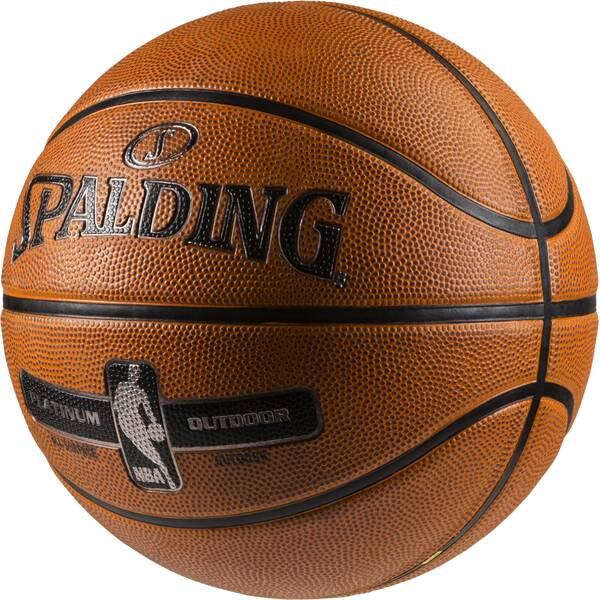 SPALDING Basketball NBA PLATINUM OUTDOOR SZ.7 (83-493Z) Orange
