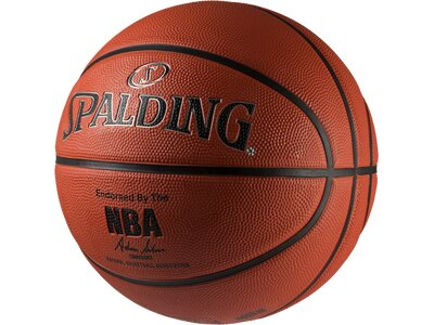 SPALDING Basketball NBA SILVER OUTDOOR SZ.7 (83-494Z) Orange