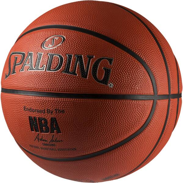 SPALDING Basketball NBA SILVER OUTDOOR SZ.7 (83-494Z)