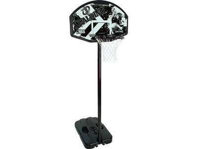 SPALDING NBA Alley Hoop Portable, (61-774CN) Schwarz