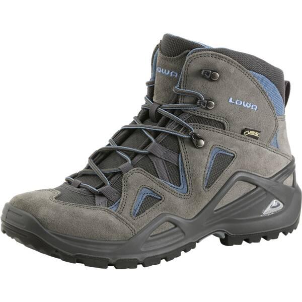 LOWA Herren Multifunktionsstiefel Zephyr GTX® Mid | Schuhe > Outdoorschuhe > Wanderstiefel | Anthrazit - Blau | Pu | LOWA
