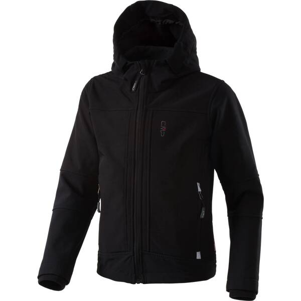 CMP Kinder  SOFTSHELL JACKET FIX HOOD