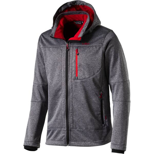 CMP Softshelljacke GREY MEL.-INCHIOSTRO