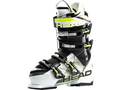 HEAD Herren Skistiefel VECTOR 100 X WHITE - TRANSPARENT BL Schwarz