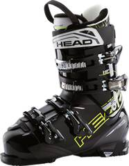 HEAD Herren Skistiefel NEXT EDGE HF BLACK - YELLOW