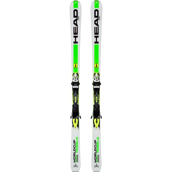 HEAD Herren Racing Ski SET WC REBELS GSX TRIFLEX+PR 11