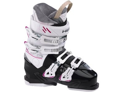 HEAD Damen Skistiefel FX ST W BLACK-WHITE Weiß