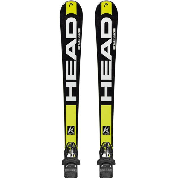 HEAD Herren Racing Ski Set Supershape Speed SW TFB+PRX 12