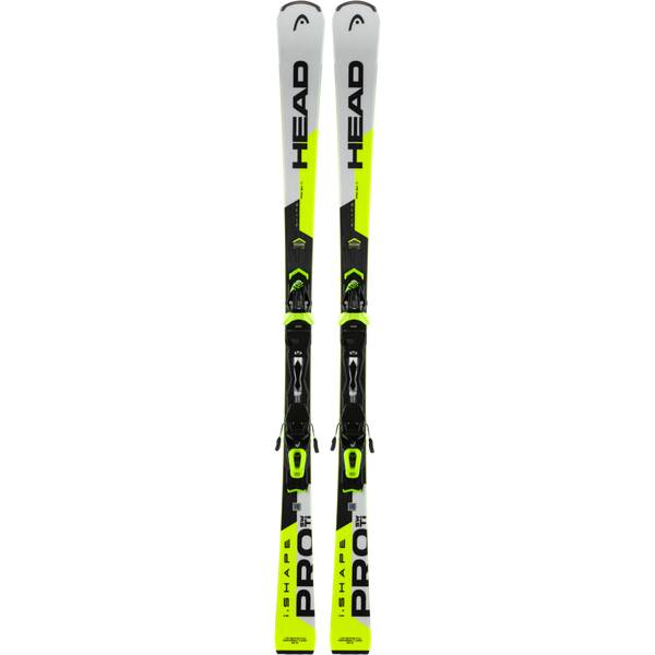 HEAD Herren Racing Ski WC Rebels iShape Pro AB + PR 11 GW Gelb