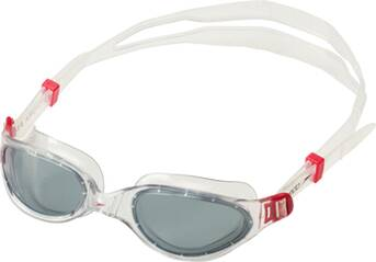 SPEEDO Schwimmbrille FUTURA PLUS GOG AU RED/SMOKE