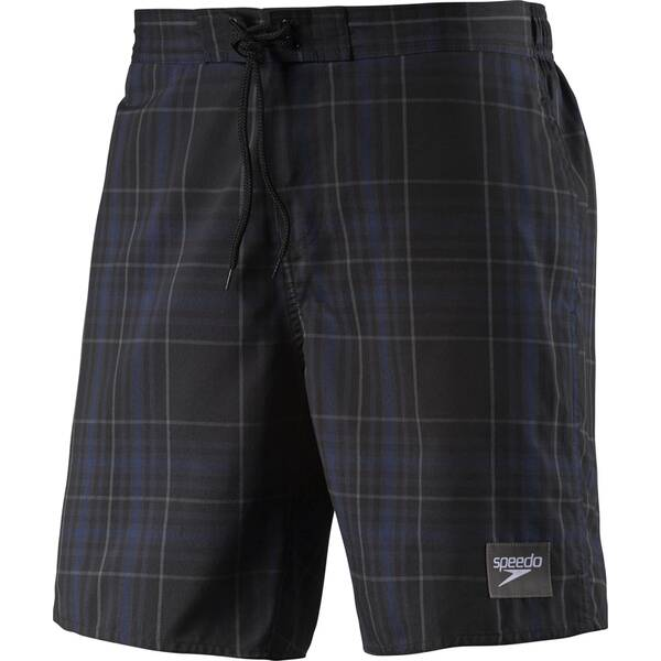 SPEEDO Herren Badeshorts Checked Leisure