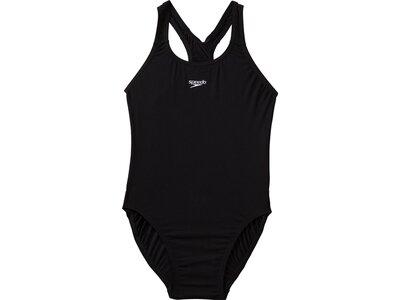 SPEEDO Kinder Schwimmanzug Essential Endurance+Medalist Schwarz